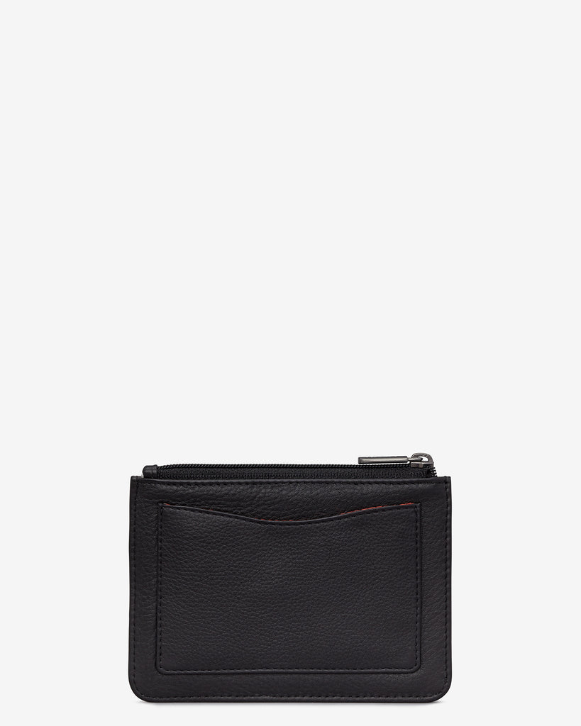 Black Leather Franklin Purse - Yoshi