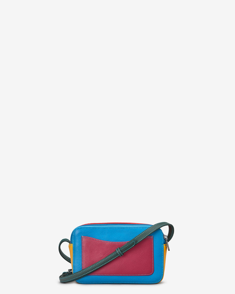 Porter Black Multi Leather Cross Body Bag - Yoshi
