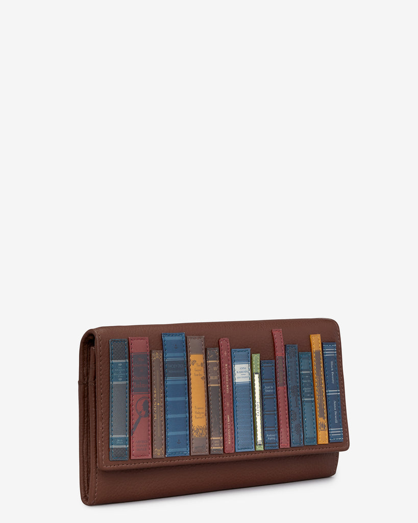 Bookworm Brown Leather Hudson Purse -  - Yoshi