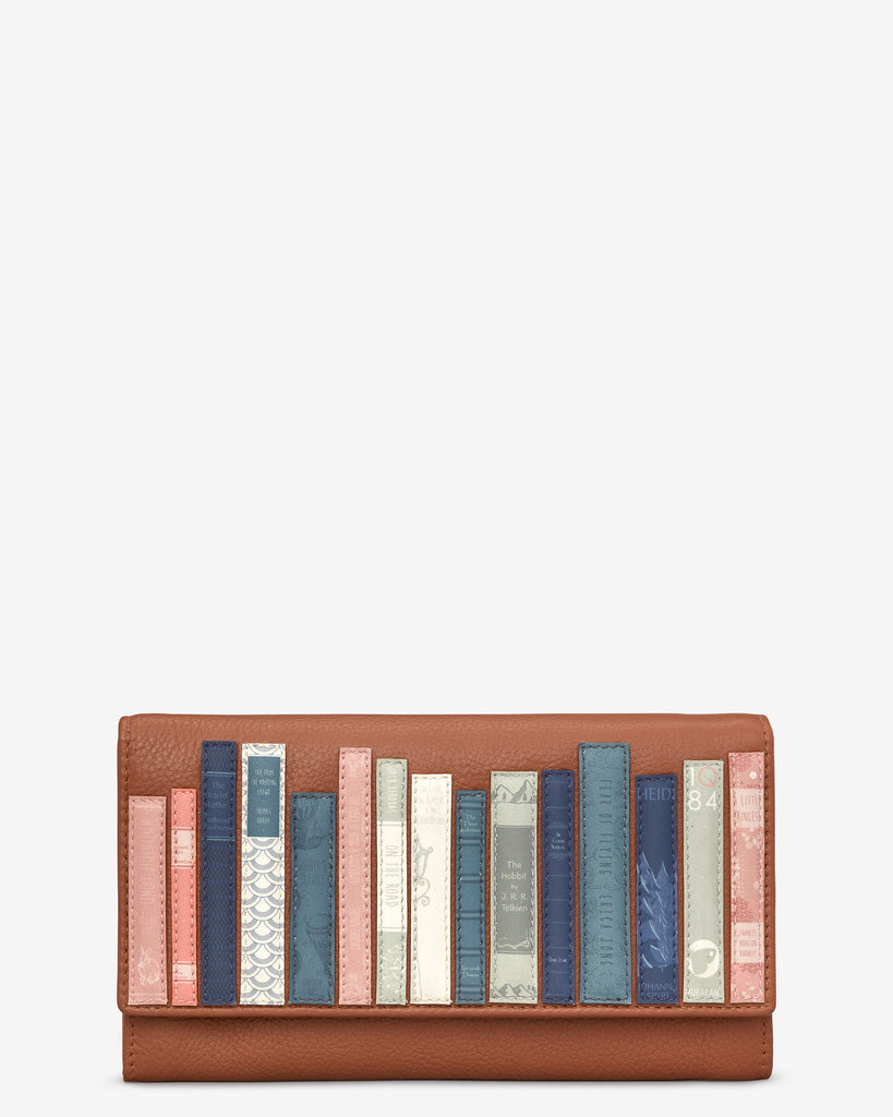 Bookworm Tan Leather Hudson Purse - Tan - Yoshi