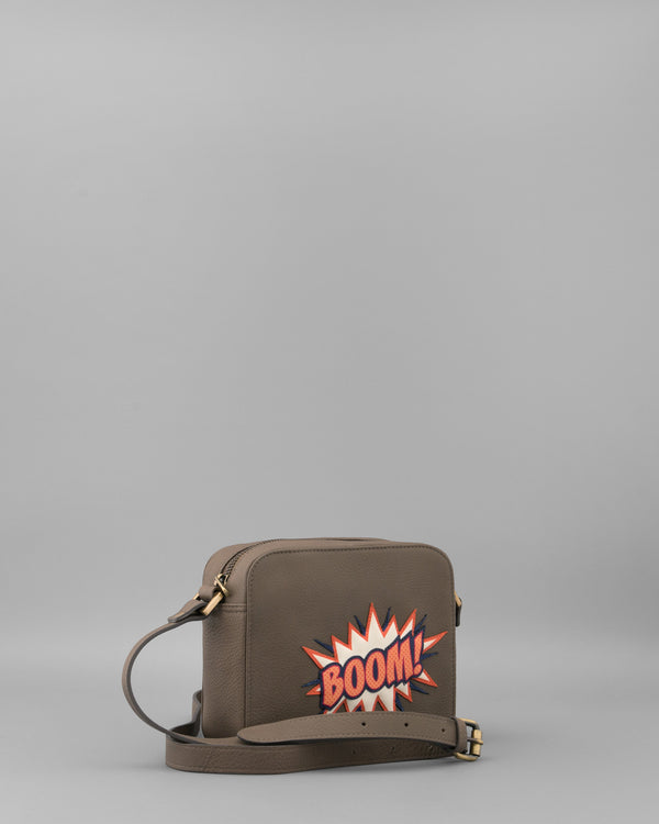 Boom Mushroom Leather Shoulder Bag by Yoshi C