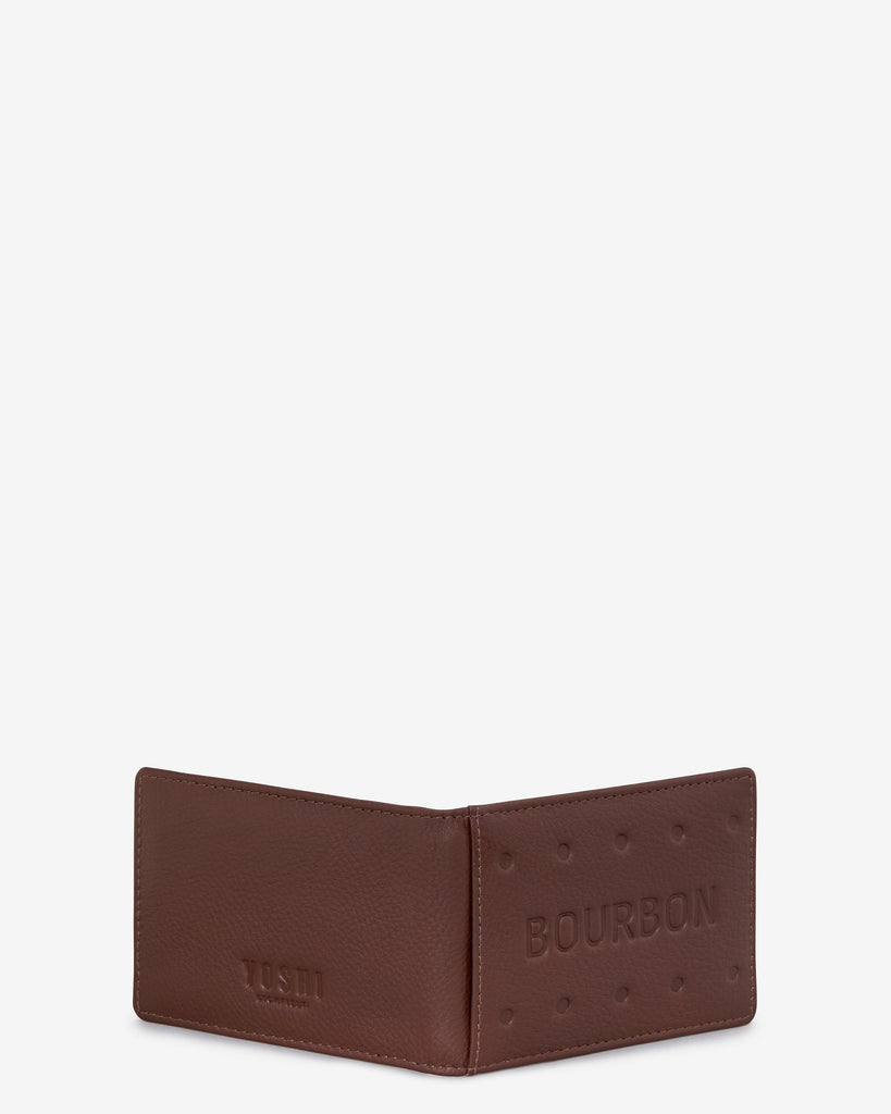 Bourbon Biscuit Leather Travel Pass Holder -  - Yoshi