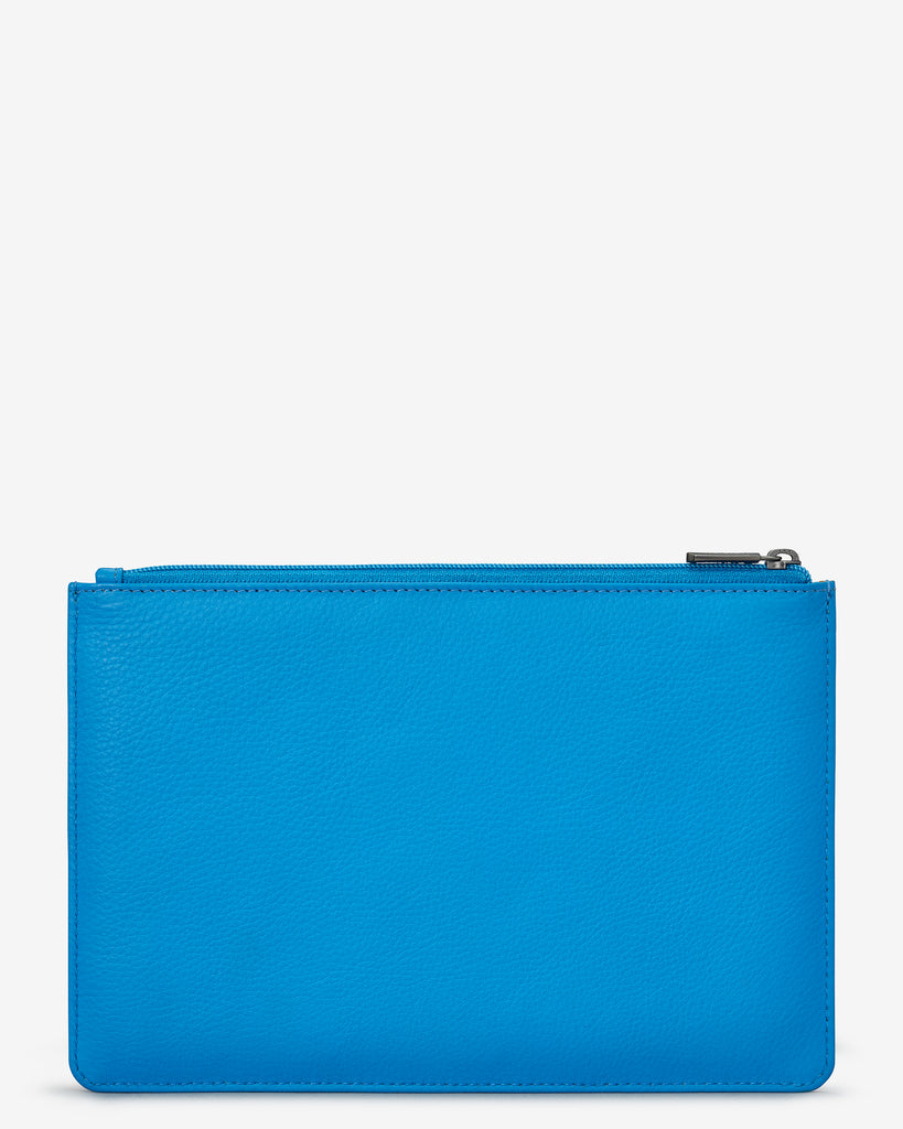 Cobalt Blue Leather Brooklyn Pouch - Yoshi
