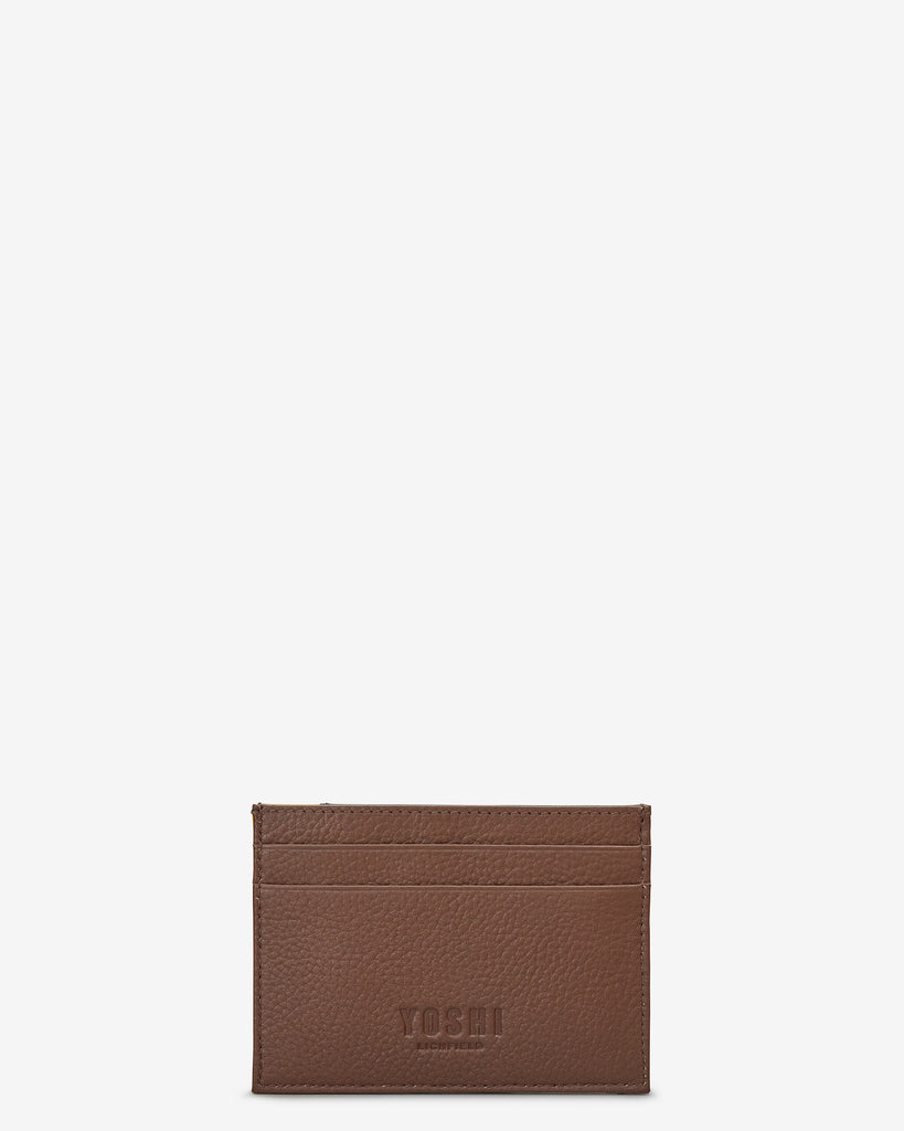 Safari Leather Academy Card Holder - Yoshi