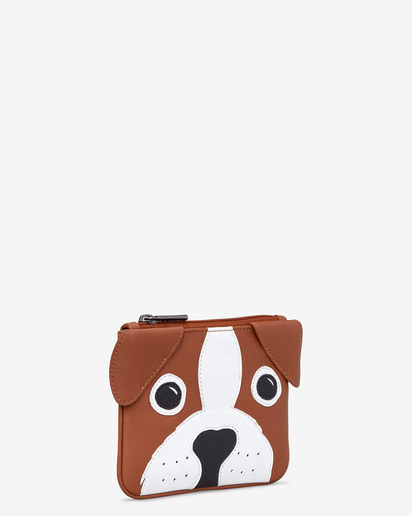 Buddy The Dog Zip Top Leather Purse -  - Yoshi