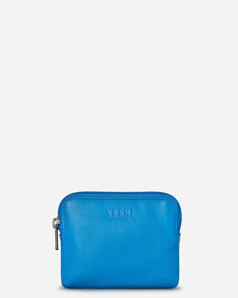 Cobalt Blue Leather Chatham Purse - Yoshi
