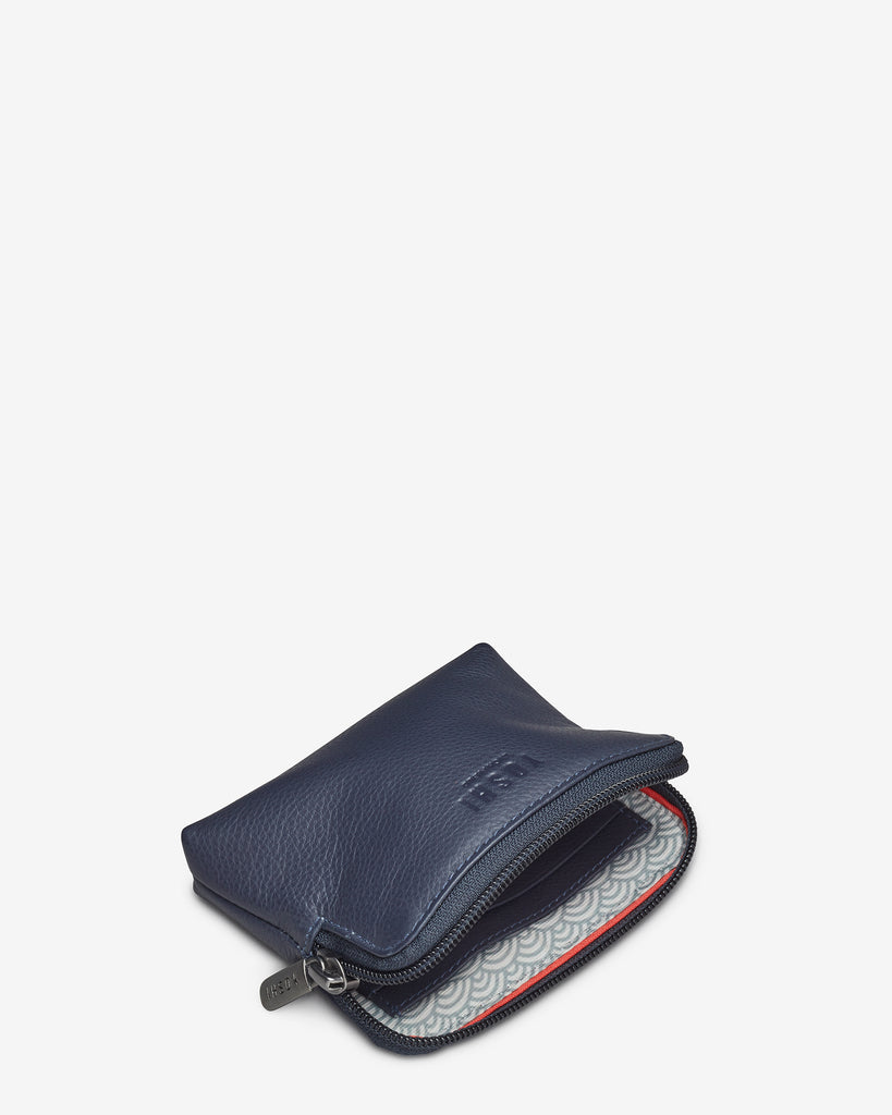 Navy Leather Chatham Purse - Yoshi