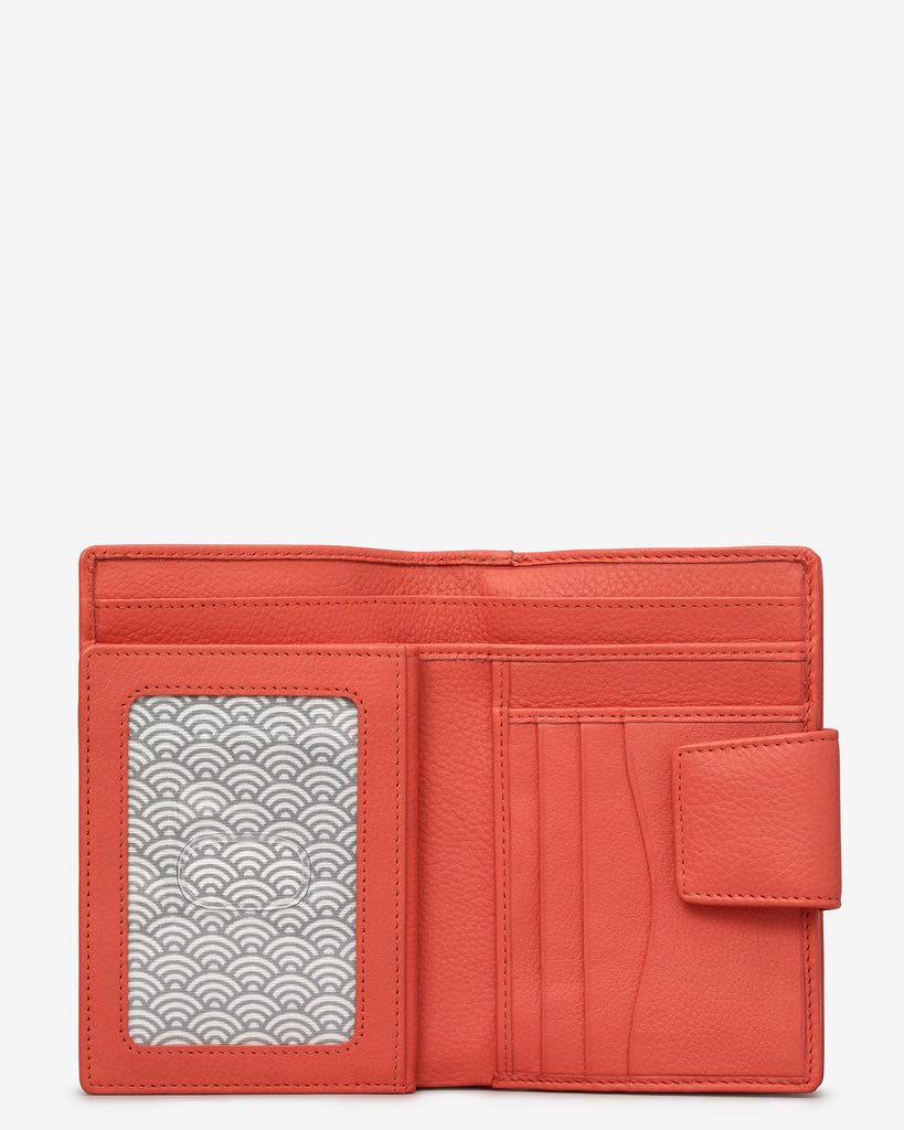 Coral Leather Anson Purse -  - Yoshi