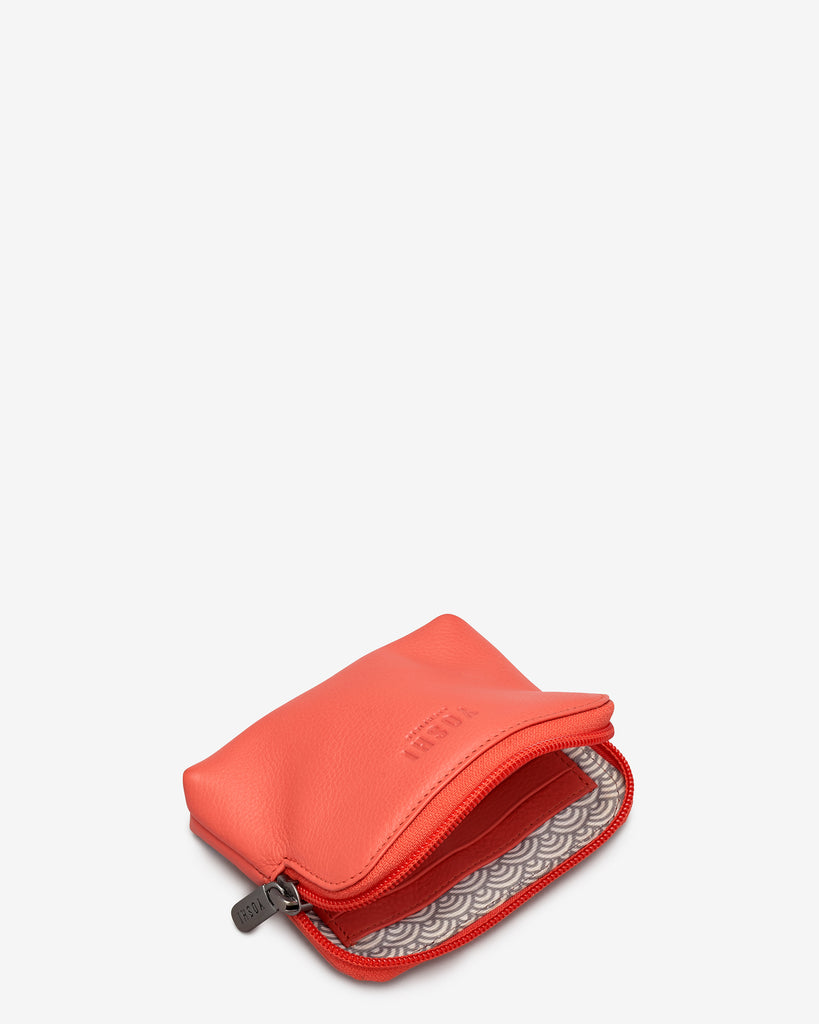 Coral Leather Chatham Purse -  - Yoshi
