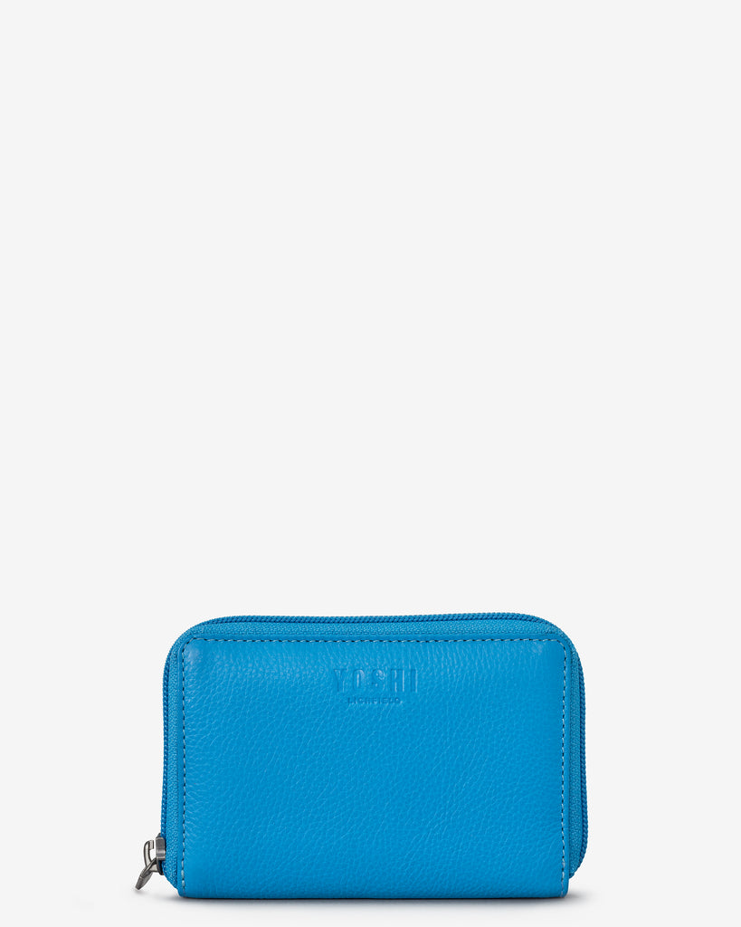 Cobalt Blue Leather Dawson Purse - Yoshi