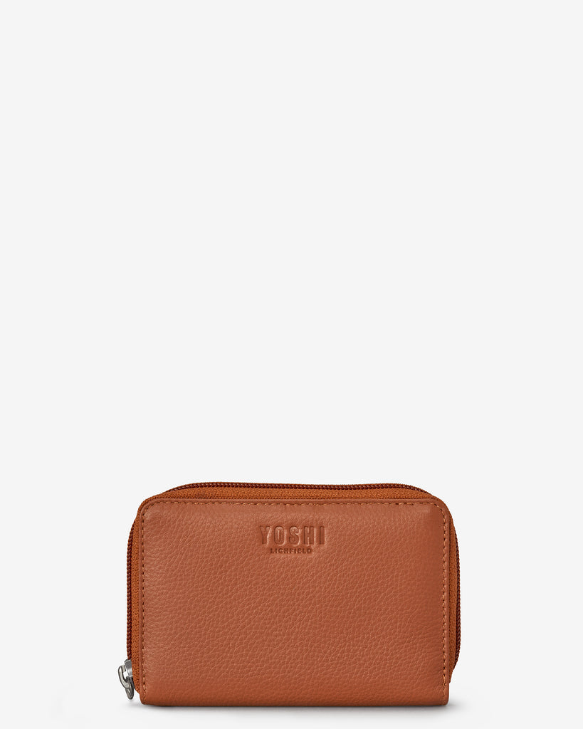 Tan Leather Dawson Purse - Yoshi