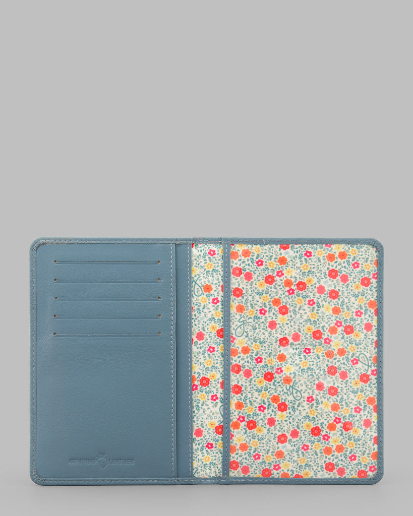 Day At The Seaside Leather Passport Cover -  - Y by Yoshi