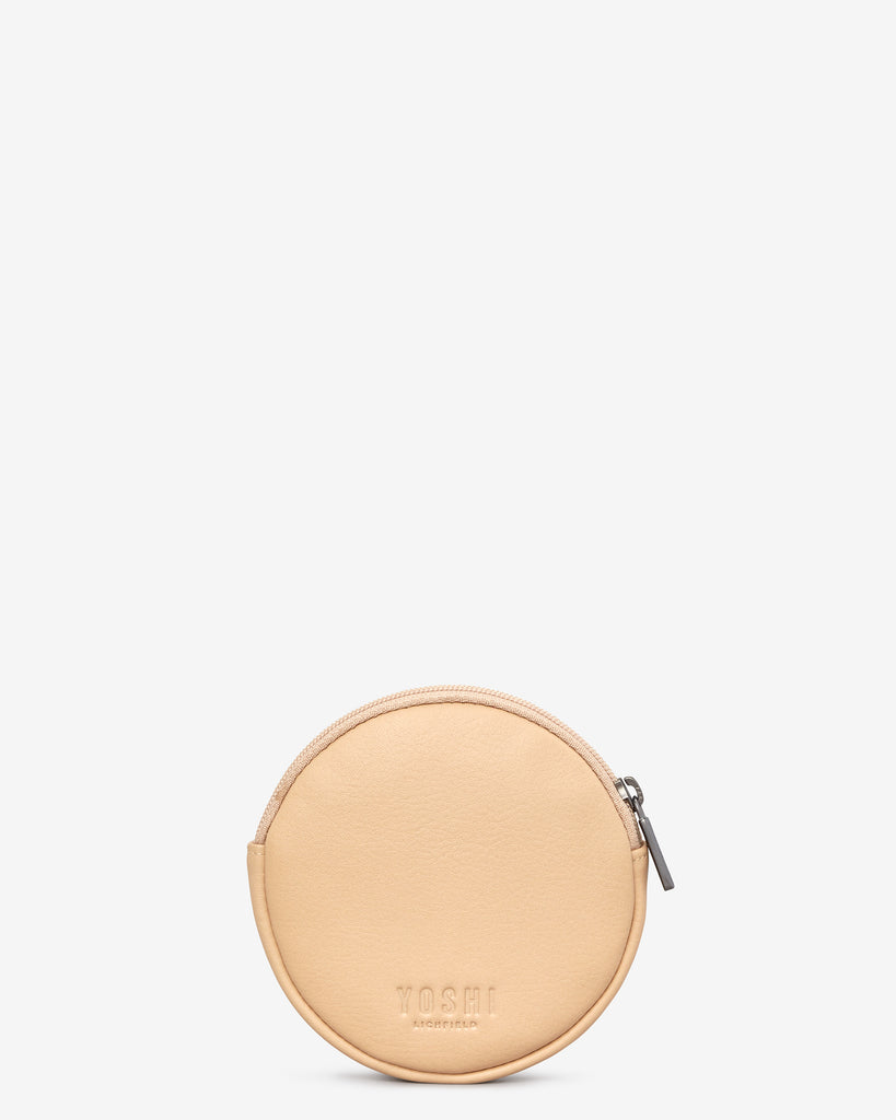 Digestive Biscuit Leather Purse b
