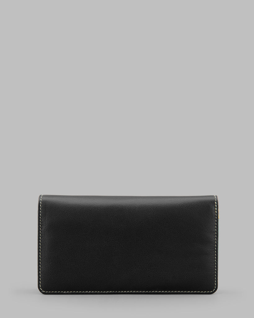 Disco Multi Leather Traditional Flap Over Purse -  - Y by Yoshi