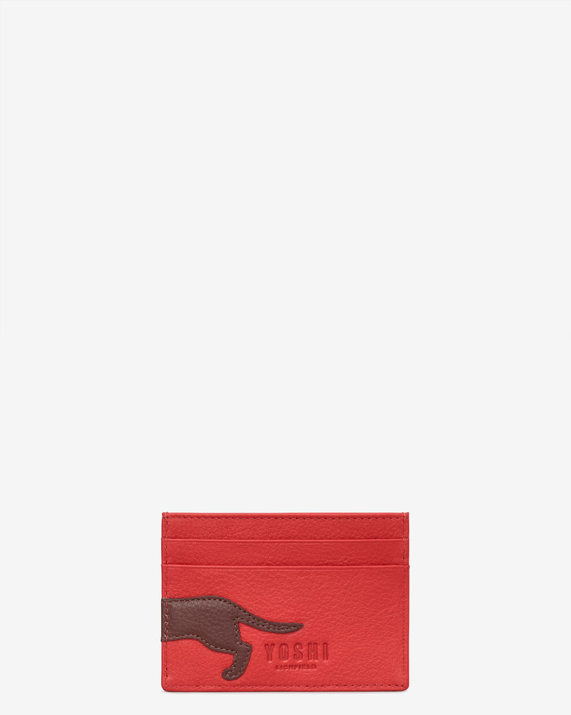 Dottie the Dachshund Leather Academy Card Holder -  - Yoshi