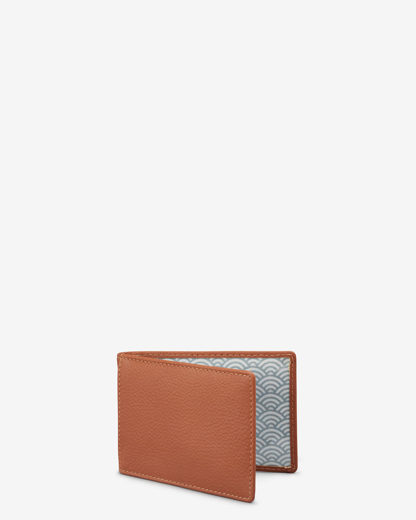 Tan Leather Duke Travel Pass Holder - Yoshi