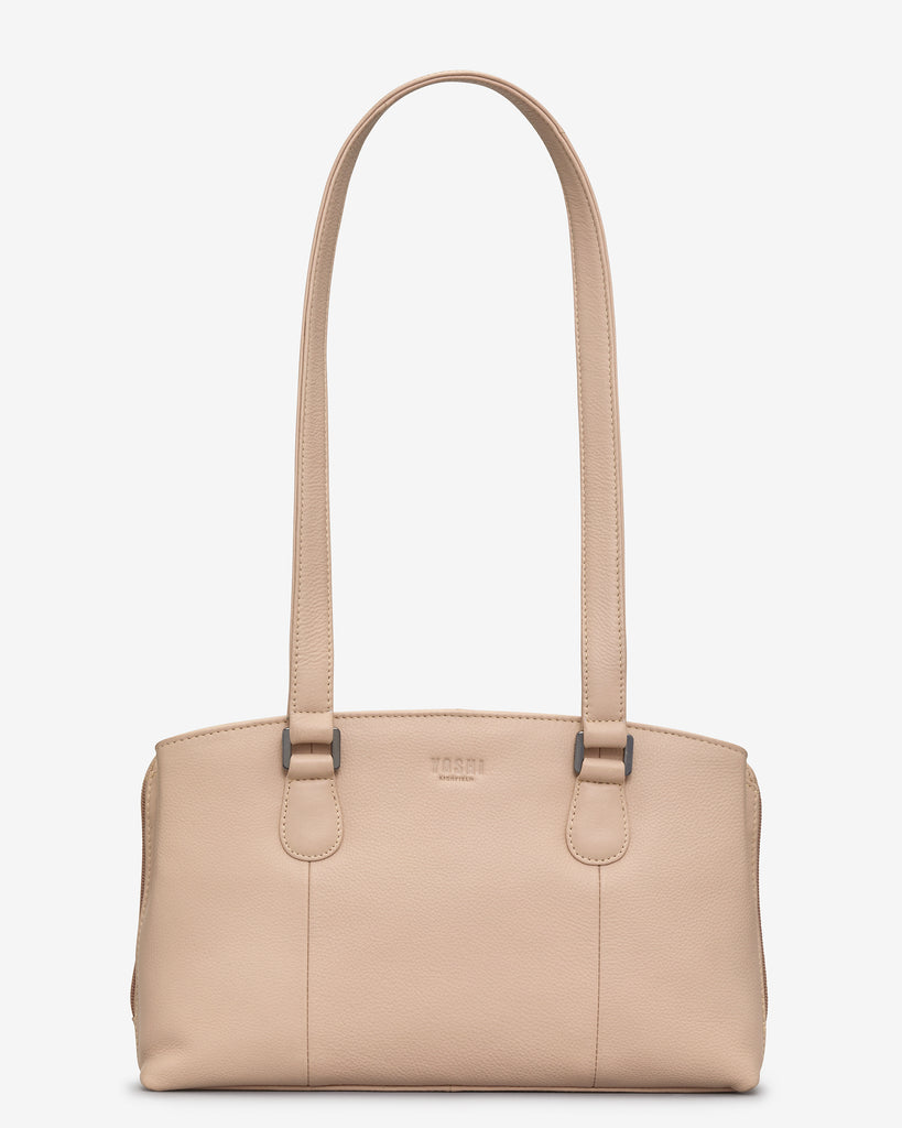 Ealing Frappe Leather Shoulder Bag - Yoshi