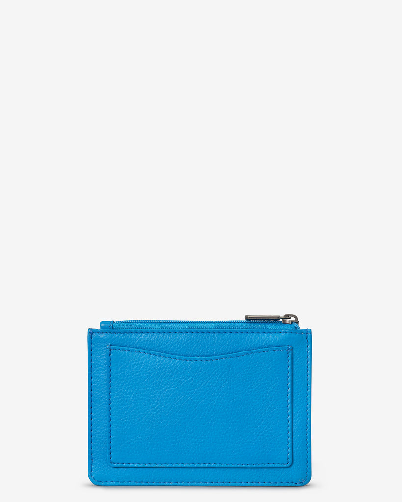 Cobalt Blue Leather Franklin Purse - Yoshi