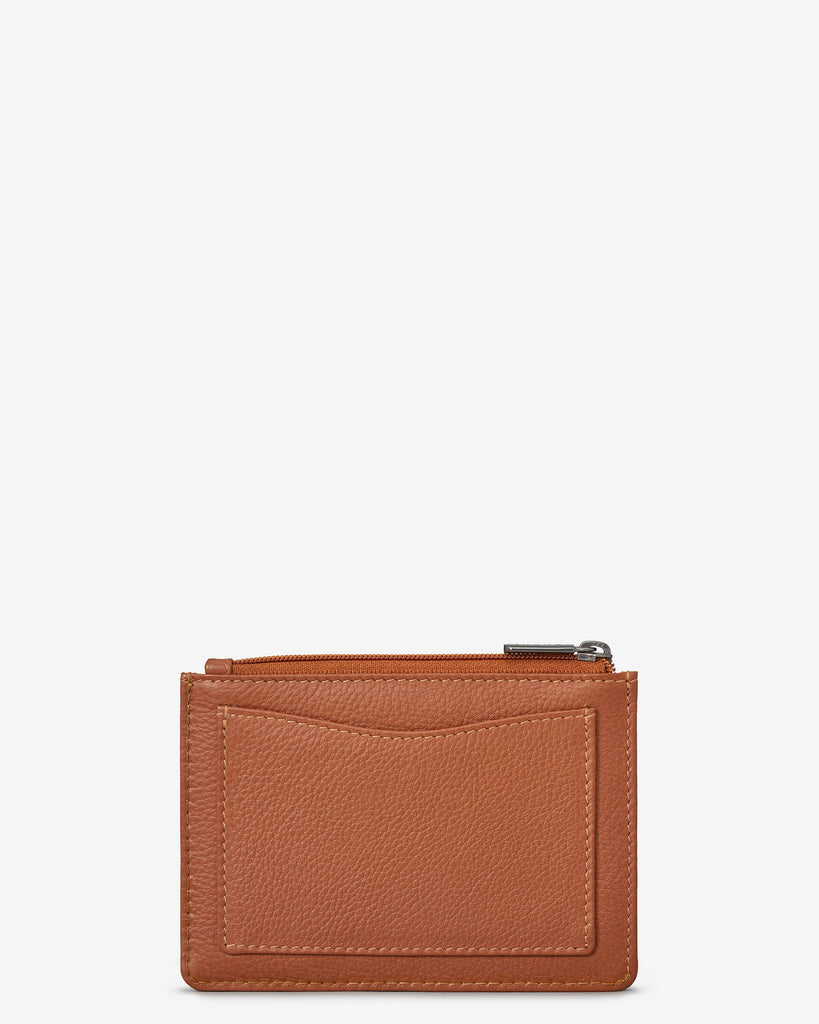 Tan Leather Franklin Purse - Yoshi