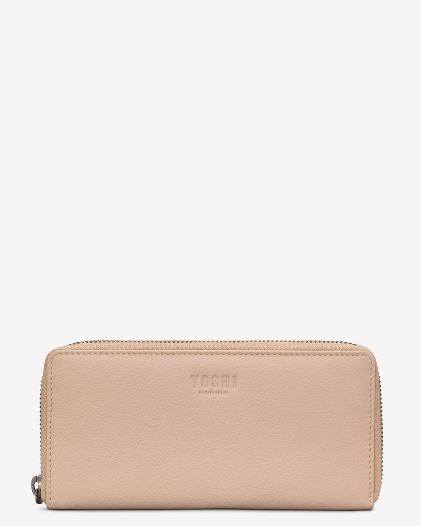 Frappe Leather Baxter Purse - Frappe - Yoshi