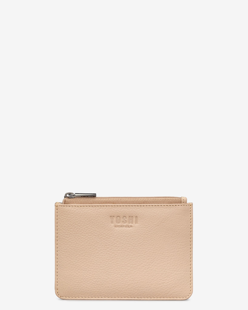 Frappe Leather Franklin Purse - Frappe - Yoshi