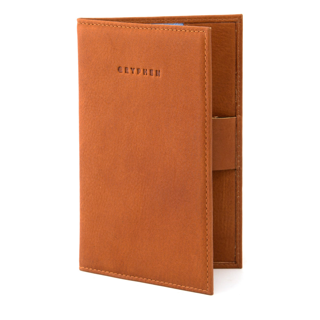 Tan Leather Golf Scorecard Holder By Gryphen