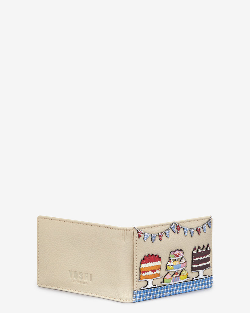 Goodness Bake Cream Leather Travel Pass Holder -  - Yoshi