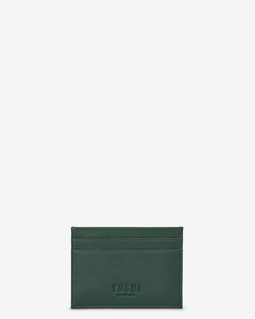 Leather Sloth Academy Card Holder - Yoshi