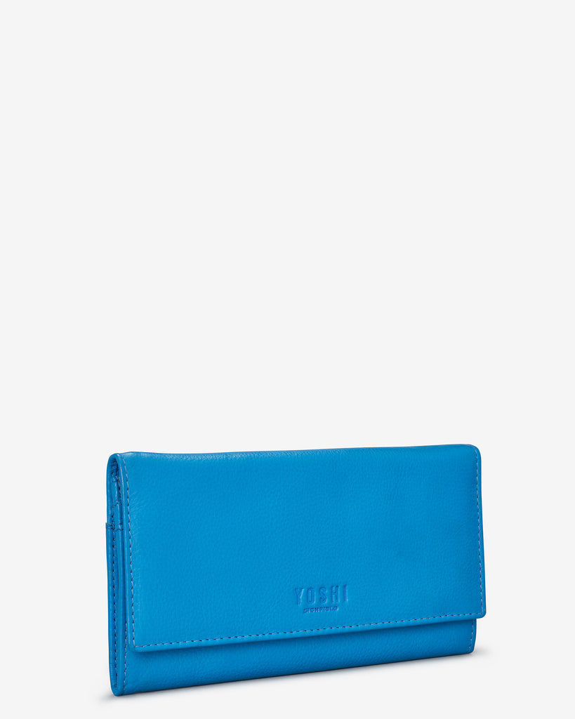 Cobalt Blue Leather Hudson Purse - Yoshi