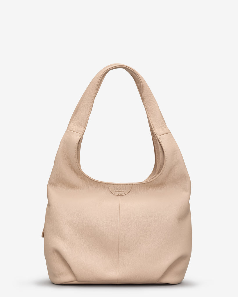 Meehan Frappe Leather Slouch Shoulder Bag - Frappe - Yoshi