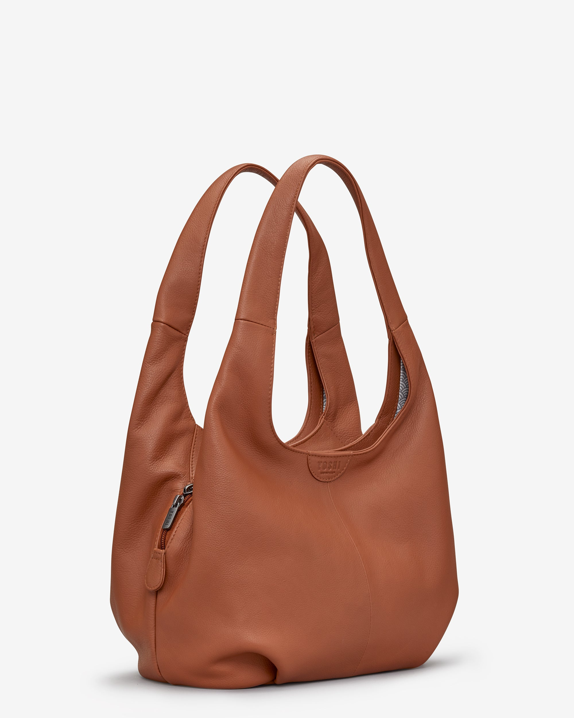 Meehan Tan Leather Slouch Shoulder Bag - - Yoshi. Yoshi   Shoulder Bag e770812768