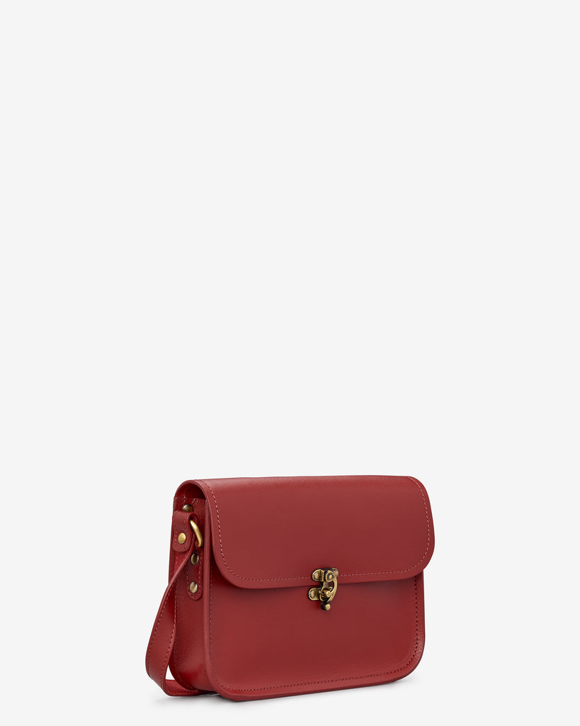 Newman Red Leather Cross Body Bag -  - Yoshi