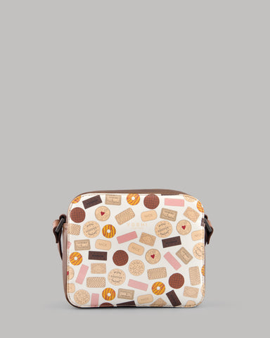 Oh Crumbs Biscuits Ladies Leather Shoulder Bag by Yoshi A