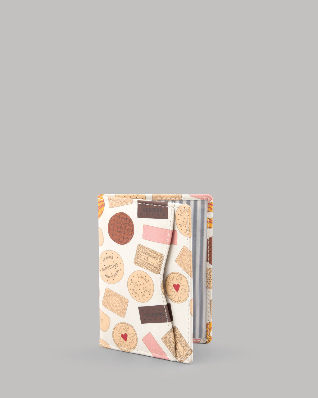 Oh Crumbs Biscuits Leather Oyster Card Travel Pass Holder by Yoshi A