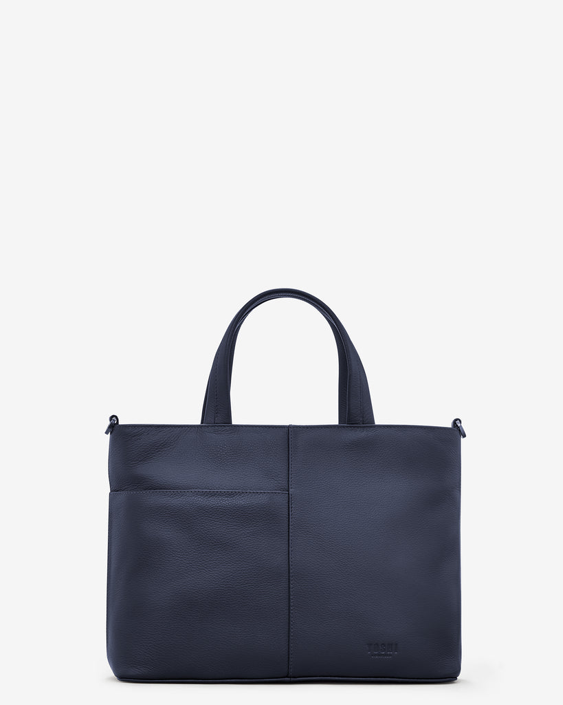 Owl You Need Navy Leather Multiway Grab Bag -  - Yoshi