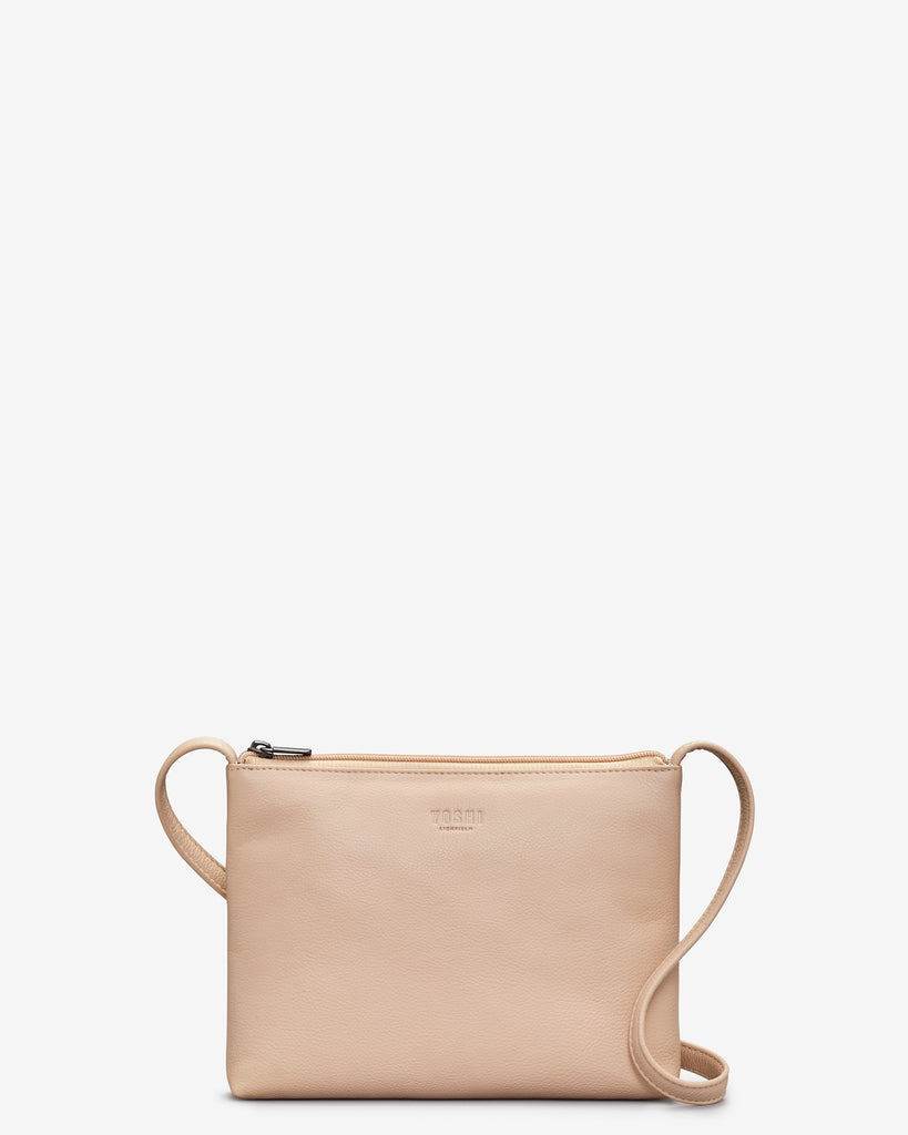 Parker Frappe Leather Cross Body Bag - Frappe - Yoshi