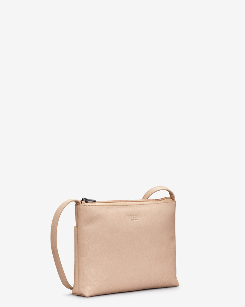 Parker Frappe Leather Cross Body Bag -  - Yoshi