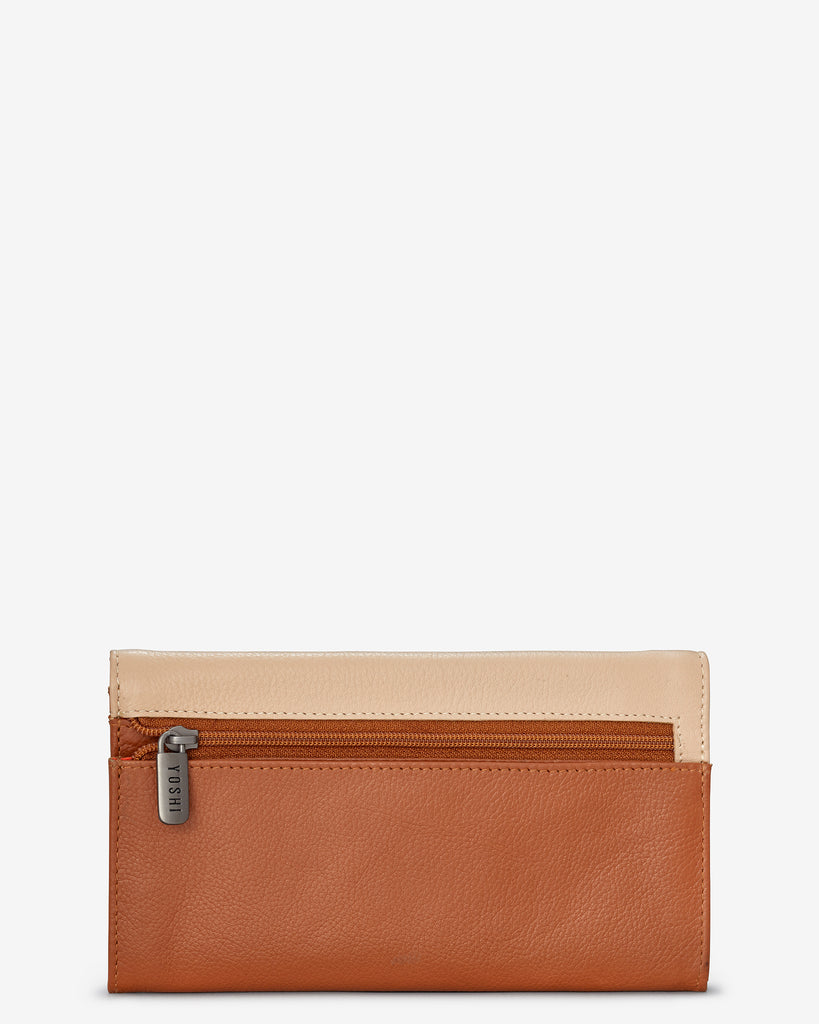 Perfect Pantry Tan Leather Hudson Purse - Yoshi