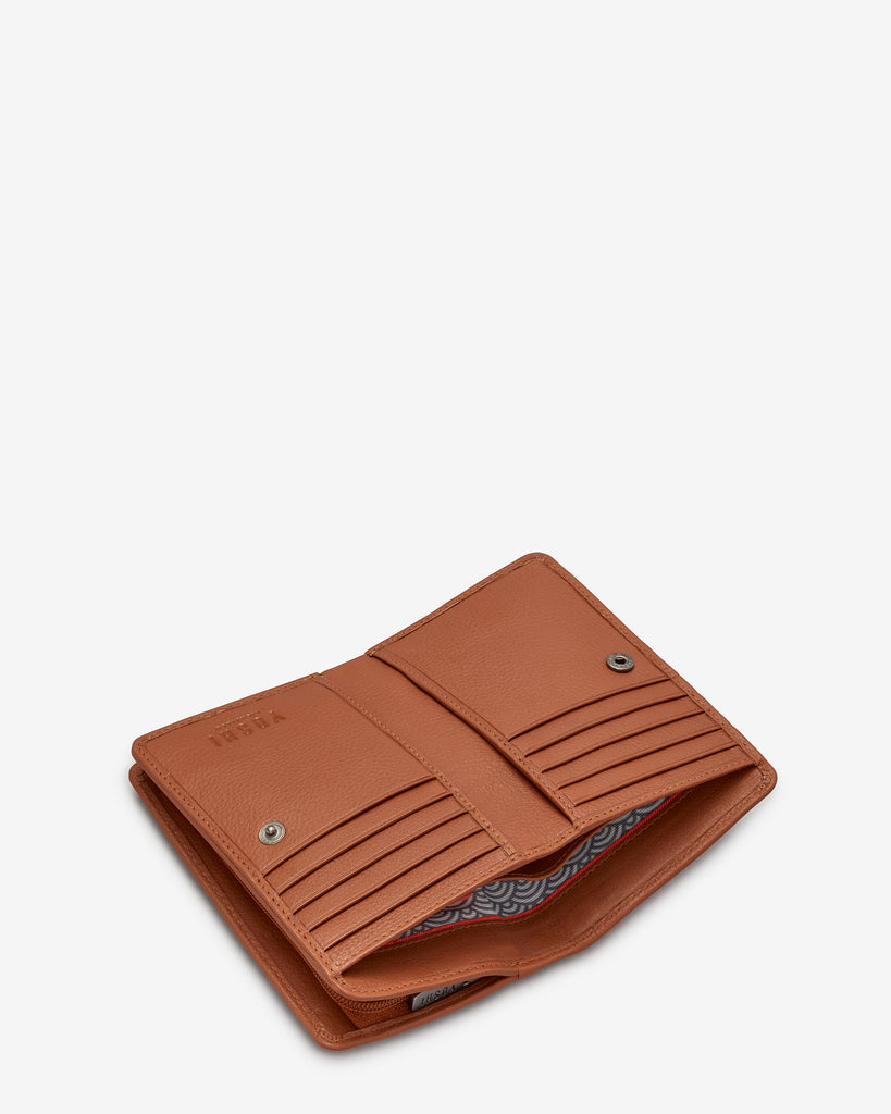 Perfect Pantry Tan Leather Oxford Purse - Yoshi