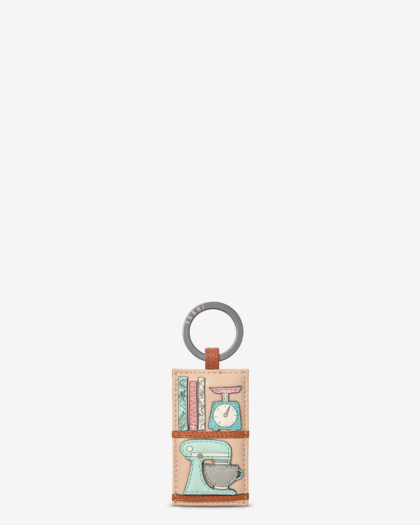 Perfect Pantry Shelf Leather Keyring - Yoshi