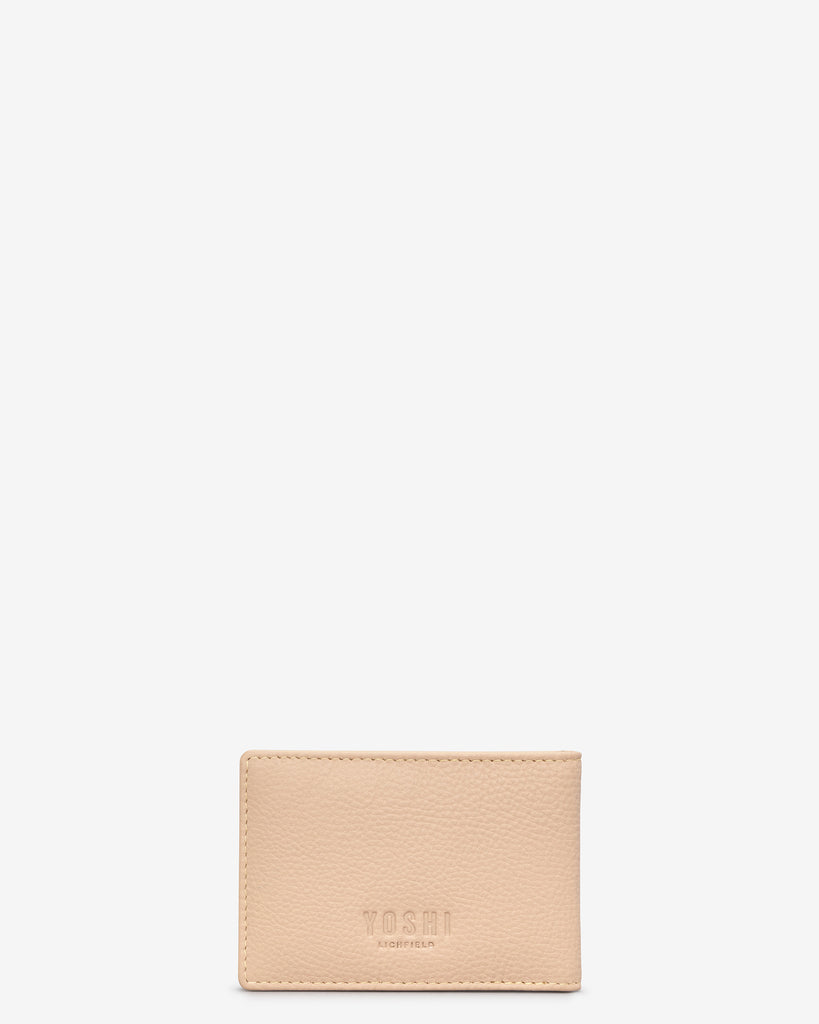 Poppy Flower Frappe Leather Travel Pass Holder - Yoshi