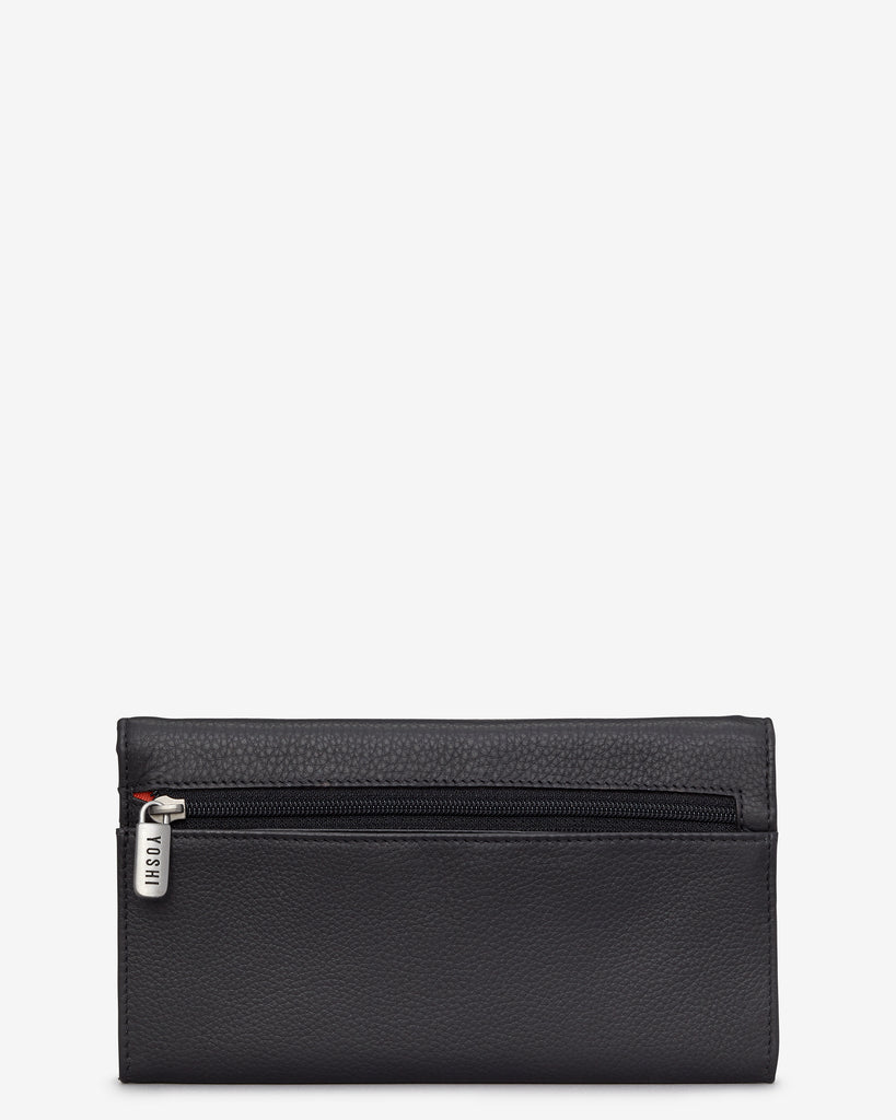 Stay Cool Black Leather Hudson Purse -  - Yoshi
