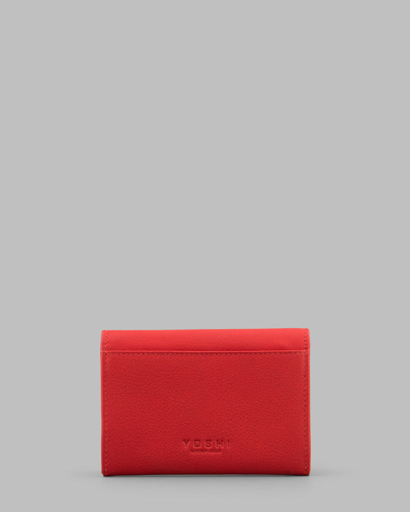 Surpr - Eyes Red Leather Purse c