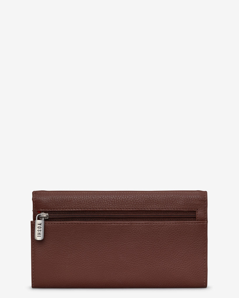 Teatime Favourites Brown Leather Hudson Purse -  - Yoshi