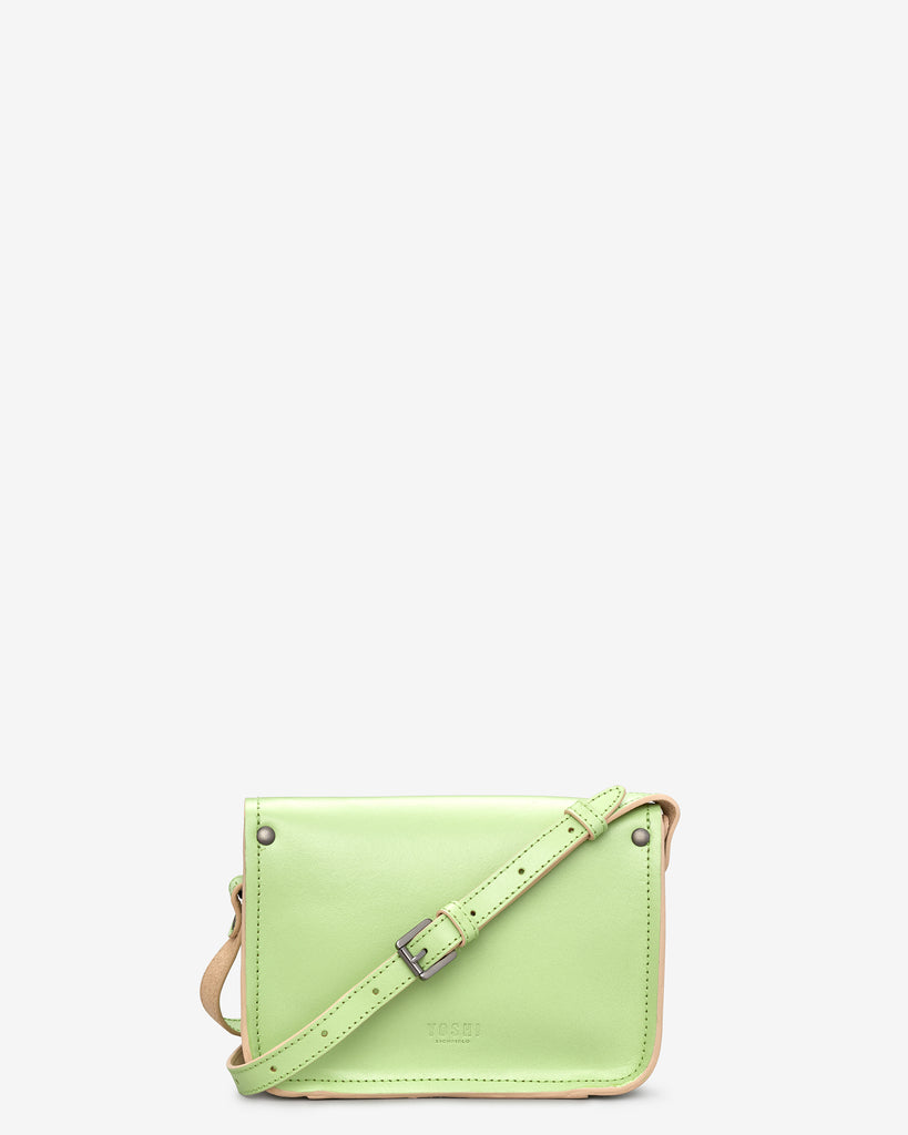 Tilney Green Leather Mini Satchel -  - Yoshi