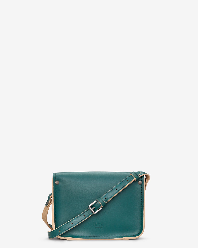 Tilney Racing Green Leather Mini Satchel -  - Yoshi