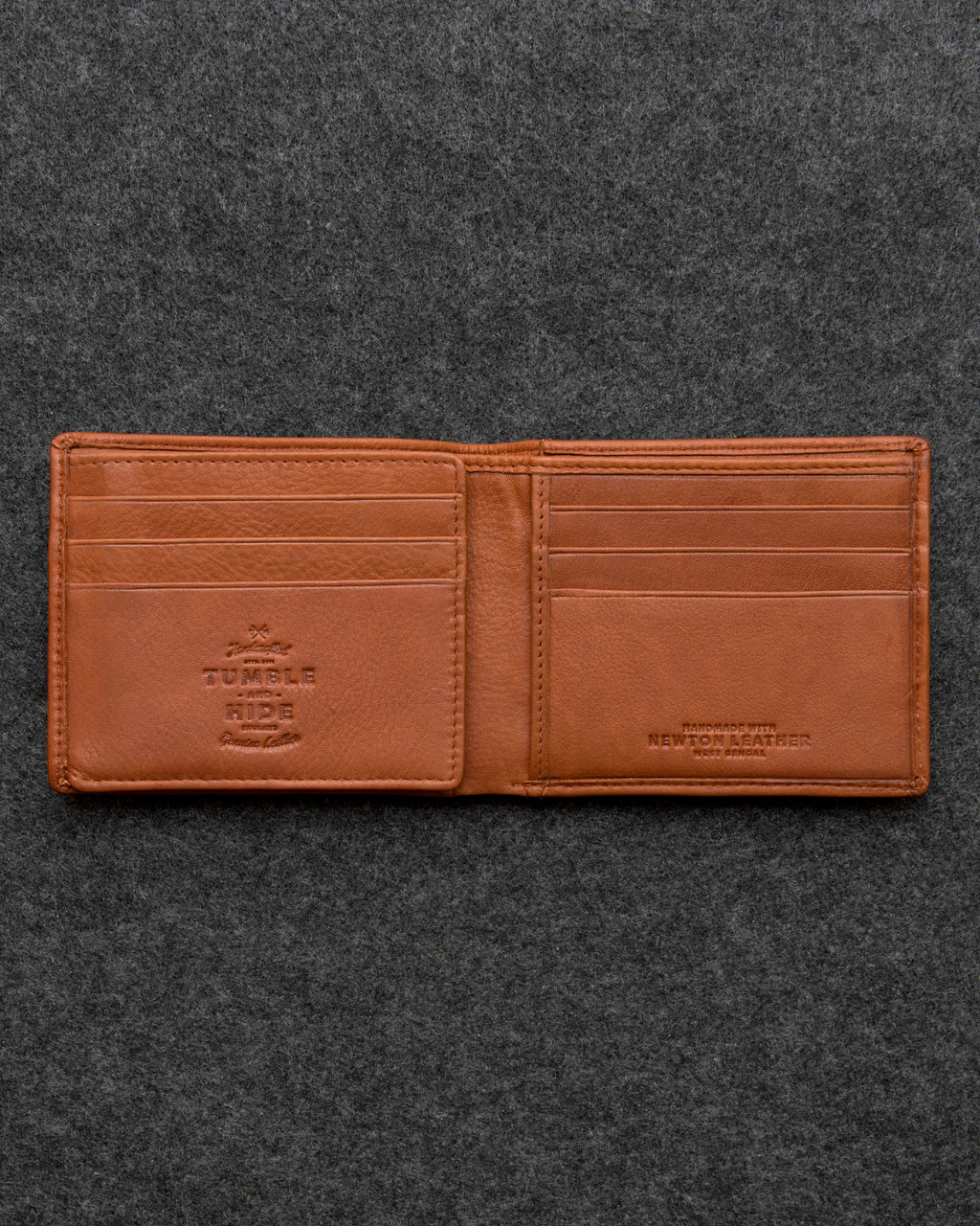 Tumble and Hide Newton Leather Journey Wallet Tan a
