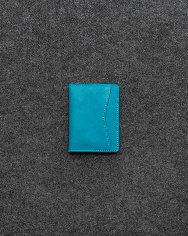 Scuba Blue Newton Leather Oyster Card Holder a