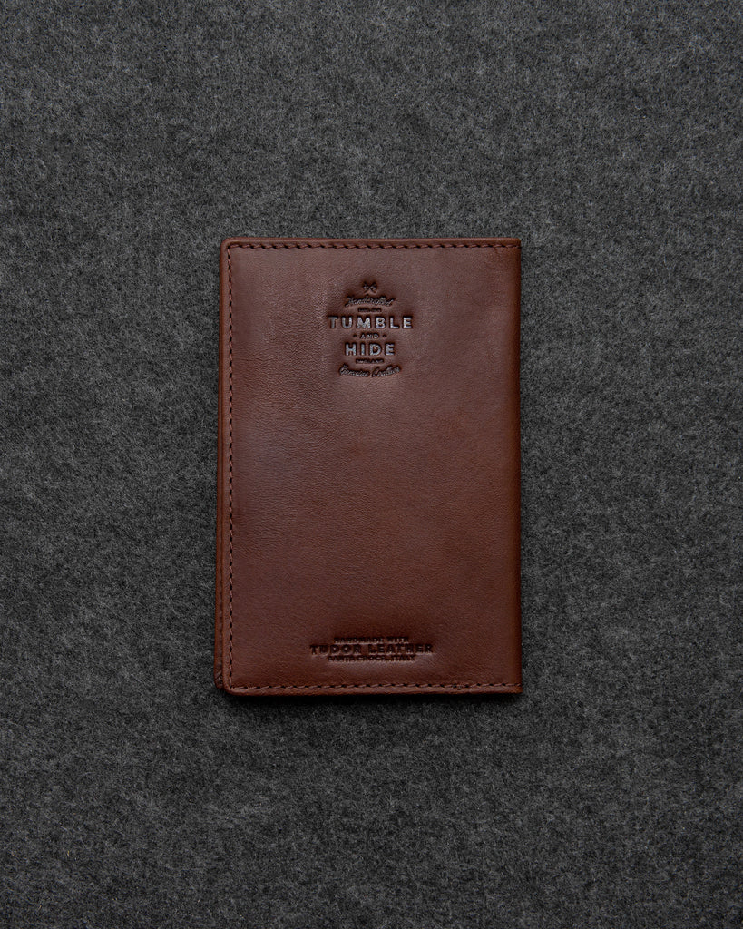 Brown Leather Golf Scorecard Holder By Tumble And Hide -  - Tumble & Hide