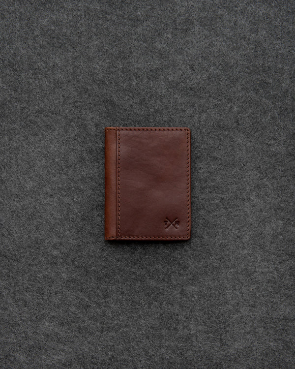 Brown Tudor Leather Oyster Card Holder a